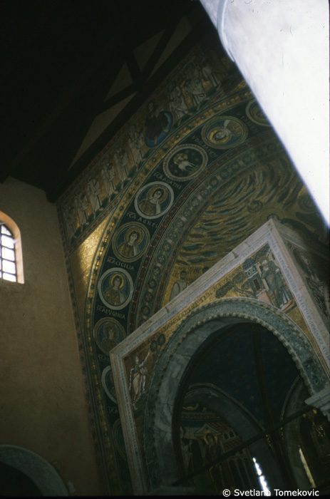 Mosaic in apse