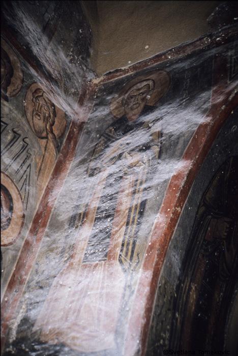 Fresco, St. Theodore