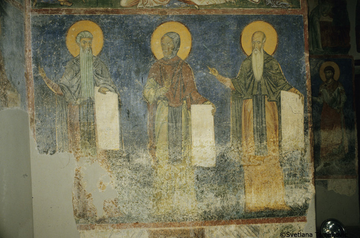 Fresco, west wall