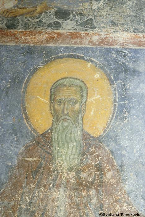 Fresco, detail of no. 88