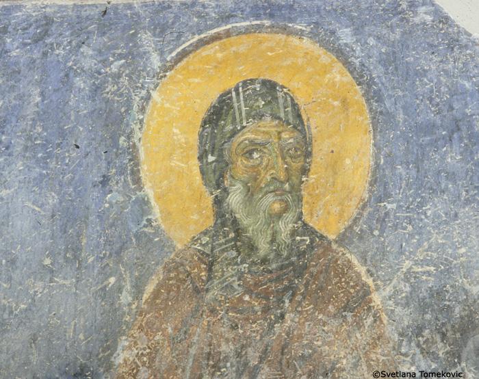 Fresco, detail of No.88