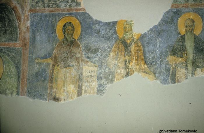 Fresco northwest, showing  Anthony, Paul and Eurythme