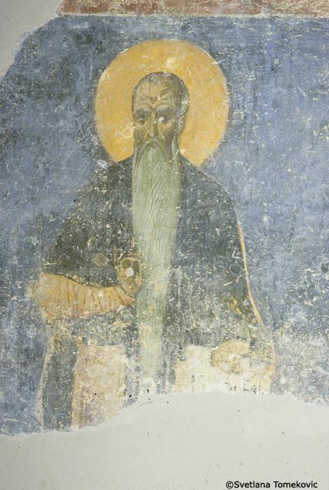 Fresco, northwest, showing  Eurythme