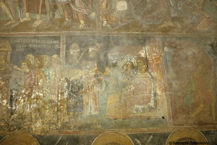 Fresco, north wall