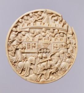 Cloisters Ivory Roundel