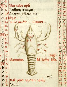 "June's Zodiac Sign & ""Lobster-like"" Crabs 