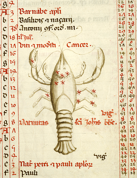 Junes Zodiac Sign Lobster Like Crabs The Index